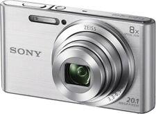 SONY DSC-W830 20,1 MP 8fach optischer Zoom Kamera Kompaktkamera silber B-WARE