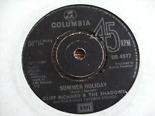 "CLIFF RICHARD SHADOWS 1963 SUMMER HOLIDAY 45 rpm SINGLE 7"" VINYL RECORD JUKEBOX"
