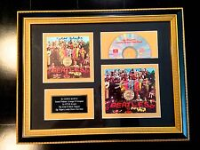 GEORGE MARTIN & PETER BLAKE authentic autograph SGT. PEPPER'S signed * BEATLES
