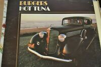 BURGERS   HOT TUNA     LP  GATEFOLD   1972   GRUNT  RECORDS   FTR  1004