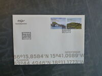 2015 ICELAND TOURISM SET 2 STAMPS FDC FIRST DAY COVER