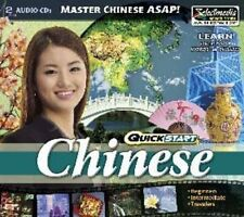 QuickStart Chinese AUDIO 2 CDs   Learn Chinese Quickly  Brand New Sealed