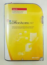 Microsoft Office Access 2007 upgrade retail box tedesco 077-03761