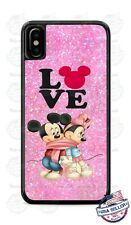 Cartoon Mickey Mouse Love Minnie Mouse Phone Case Cover For iPhone Samsung