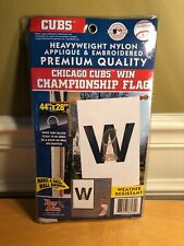 4ef4e325451 Chicago Cubs MLB Flag 2-Sided World Series W Champs 44