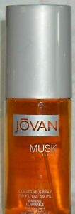 Jovan Musk Cologne Spray for Men 2 oz UNBOXED
