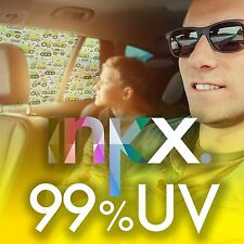 2 x INKX 99% UV SPF 100 PREMIUM CAR SHADE EARTH MOVING, 66% HEAT REJECTION