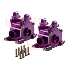 1:8 ALUMINUM FRONT&REAR GEARBOX DIFF GEAR BOX FOR RC HPI SAVAGE 21 4.6 5.9 X XL