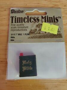 "DARICE TIMELESS MINIS- BIBLE (3/4"" X 1"") 2307-20"
