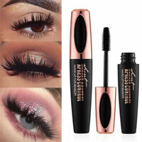 4D Silk Fiber Eyelash Mascara Extension Makeup Black Waterproof Kit Eye Lashes