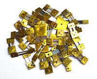 10  Brass Blocked Assorted Clock Pendulum Suspension Springs Strike French Chime