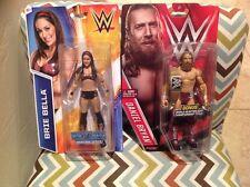 WWE Wrestling Diva #21 Brie Bella & Superstar Daniel Bryan w/ Championship Belt
