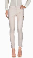 BLUGIRL FOLIES Slim Cargo Jeans Pink IT 38/US 2 NWT $199