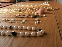 Fashion Pendants - 10 STYLES - Charm Chain Choker Chunky Bib Collar Necklace