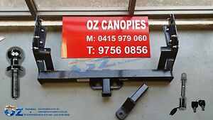FORD COURIER Tow bar HEAVY DUTY 3000KG 1985 - 2007 TRAY BACK