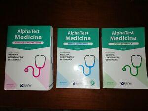 Alpha test medicina, odontoiatria, veterinaria kit completo