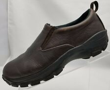 7bf5758f4 Red Head XTR Loafers Rugged Mens Brown Leather Slip On Shoes Size 10