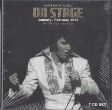 ELVIS WALK A MILE IN MY SHOES ON STAGE JAN/FEB 1970 DELUXE BOXSET 7 CDS SEALED