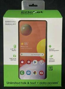 Samsung Galaxy A11 SM-A115A - 32GB - Black (Cricket Wireless) (Single SIM)