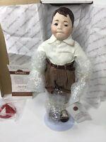 1993, Spanky, Hand-Painted Porcelain Doll, The Hamilton Collection, w/Box & COA