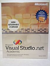Microsoft Visual Studio .Net 2003 Academic Version New In Box