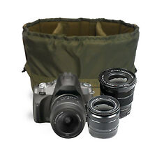 Large Insert Padded Camera Bag Compartment to carry a DSLR Camera 2standard lens