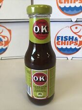 COLMAN'S OK FRUITY SAUCE 335G Brown Sauce Fruity