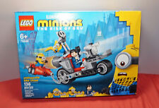 Lego 75549 Minions Unstoppable Bike Chase 6+ New and Factory Sealed 136 Pieces