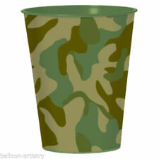 Camouflage Party Tableware with Less than 10 Items