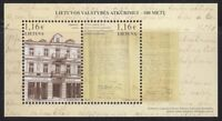 Lithuania MNH 100th Annivers.of Restoration of Lithuanian State Souvenir sheet**