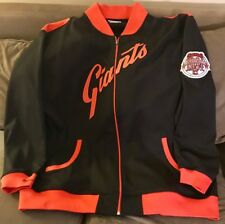 MItchell & Ness MLB San Francisco Giants All Star Zip Up Warm Up Jacket size 5XL