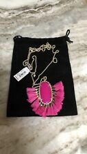 NWT Kendra Scott Betsy Long Pendant Adjustable Necklace in Pink MSRP $150