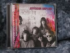 "JEFFERSON AIRPLANE ""ESSENTIAL JEFFERSON AIRPLANE"" JAPAN TWO CD SET WITH OBI"