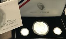 2015 March of Dimes Special 3 Coin Silver Proof Set in Mint Box with COA, RP 10C