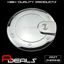 FOR JEEP GRAND CHEROKEE 2005 06 07 08 09 2010 CHROME GAS TANK FUEL DOOR COVER
