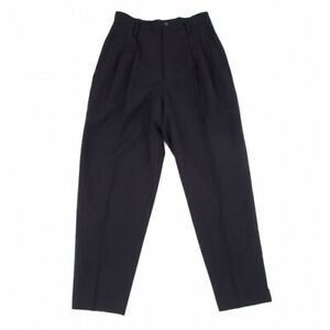 COMME des GARCONS Two Tucks Tapered Pants Size S(K-97437)