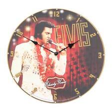 Large ELVIS PRESLEY Wall CLOCK 34cm Home Decor Wall Clock King Of Rock N Roll