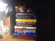 """""""ORGANIZED CRIME/MAFIA/THE MOB/LA COSA NOSTRA"""" LOT/14 BOOKS DVD VHS TESTED HOFFA"""