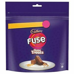 Cadbury Fuse Home Treats Chocolate Pack of 3 X 170.5 Gm from India