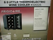 Frigidaire 8-Bottle Thermoelectric Wine Cooler-New in Box