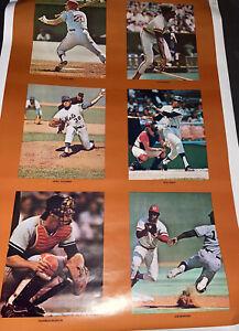 SCARCE 1977 BASEBALL~24X36 MARATHON POSTER~THURMAN MUNSON~CAREW~MORGAN~WINFIELD+