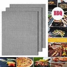 Tapete De Churrasco Grill Antiaderente Grill malha Culinária assar Folha Reutilizável Mat Churrasco