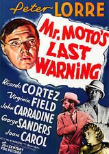 Mr Motos Last Warning [Import] DVD