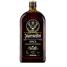 Liquore Cinnamon & Vanilla Blend JAGERMEISTER Spice con 1 Bicchiere