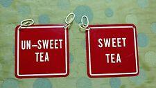Vintage Sweet tea signs restaruant