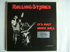 THE ROLLING STONES IT'S ONLY ROCKN ROLL / BOX CLEAR VINYLS