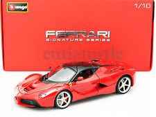 Bburago Signature Series Ferrari Laferrari F70 2014 New Enzo 1:18 18-16901 Red