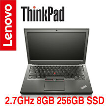 NEW ThinkPad X250 i5 2.7GHz 8GB 256GB SSD AC BT W10 2 Years OS Warranty X270