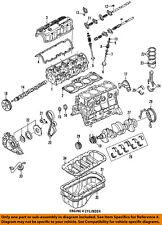 genuine oem engines \u0026 components for ford probe ebayford oem 89 92 probe engine timing belt e92z6268a
