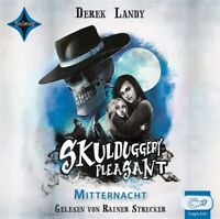 SKULDUGGERY PLEASANT-MITTERNACHT - LANDY,DEREK  2 MP3 CD NEW